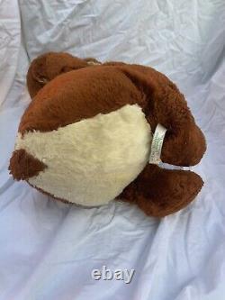 Rushton Sad Crying Bear Vintage Rubber Face Plush RARE 16