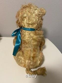 Rushton Vintage Rubber Face Plush Lion RARE Double Tagged