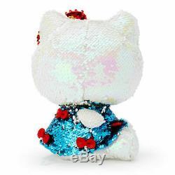 SALE! Sanrio Hello Kitty 45th Anniversary Plush Doll Sequin withApple Bag charm