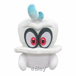 SANEI Super Mario Odyssey Cappy Plush Stuffed Toy Doll 20cm New
