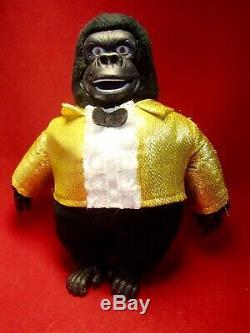 SHOWBIZ PIZZA Gorilla FATZ GERONIMO 1980's Doll Figure Toy Plush chuck e. Cheese