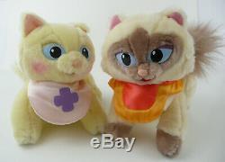 Sagwa The Chinese Siamese Cat 2002 Plush Sagwa & Sheegwa RARE
