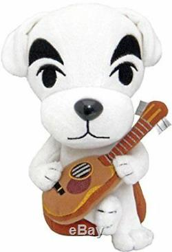 Sanei Little Buddy USA Animal Crossing 8 K. K. Slider Plush Stuffed Doll Toy