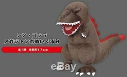 Sega Shin Godzilla Mega Jumbo Stuffed animal Soft toy Plush 37cm