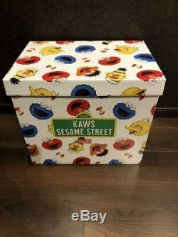 Sesame Street x KAWS UNIQLO Toy Complete Box Set of 5 Plush Doll stuffed animal