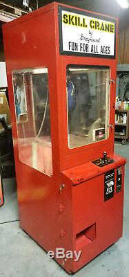 Skill Crane by Grayhound Claw Plush Stuffed Animal Arcade Machine (WORKING)