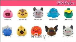 Slime Rancher Plush Pack Gold Hunter Boom Tabby Tangle Rock Puddle Pink Honey