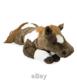 Soft Giant Plush Horse Large Body Pillow Stuffed Animal Toy Cuddly Pony Cute Big