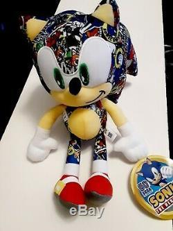 Sonic Hedgehog Plush Stuffed Doll SEGA Boys Kids Toy Gift 12 New Authentic