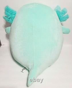 Squishmallow Anastasia The Axolotl Blue 16 Inch Kellytoy Marshmallow Soft Plush