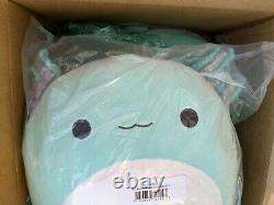 Squishmallow Anastasia The Axolotl Blue 16 XL Kellytoy Marshmallow Plush New