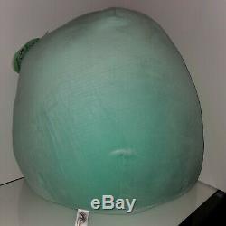 Squishmallow Aqua the teal Sloth 20 XXXL Huge NWT Plush Toy Kelly Toy RARE HTF