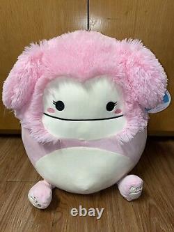 Squishmallow Brina Bigfoot 16 inch Kellytoy stuffed animal plush NWT