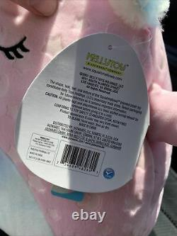 Squishmallow Cressida 12 GLOW IN THE DARK Axolotl Kellytoy Plush NEW Target 11