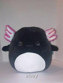 Squishmallow Jaelyn Black Plush 12 Axolotl BRAND NEW WITH TAGS Squishmallows