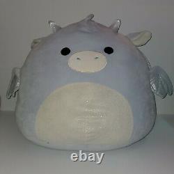 Squishmallow Kenny the Dragon 20 XXXL Huge NWT Plush Toy Kelly Toy RARE HTF