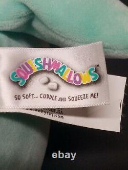 Squishmallow Rare 12 Sharon Shark Teal Collectable Plush Good Condition MK3