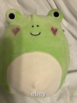 Squishmallow Valentines Philippe Frog Heart Cheeks 8in. RARE 2017 New With Tags