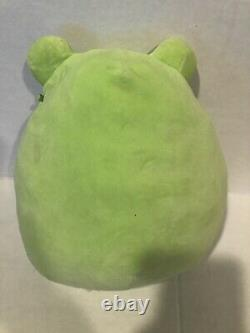 Squishmallow Valentines Philippe The Frog Plush Heart Cheeks 8 Inches RARE HTF