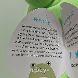 Squishmallow Wendy The Frog 16 Inch Kellytoy NWT