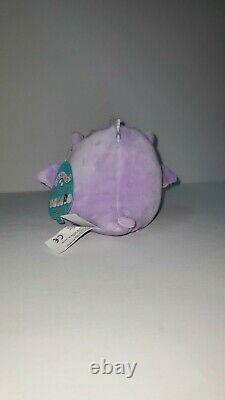 Squishmallows 5 Dina the Dragon plush kellytoy limited edition NWT RARE HTF