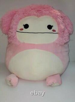 Squishmallows Brina the Bigfoot 20 XXXL Huge NWT Plush Toy Kelly Toy RARE HTF