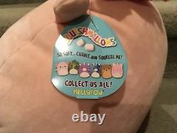 Squishmallows Plush 12 Archie Axolotl Toy Soft HTF Rare NWT Cute Pink