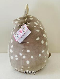 Squishmallows for Justice Willow Brown Deer Super Soft Plush Pillow 18 Kawaii