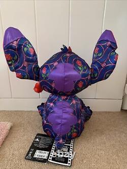 Stitch Crashes Disney Beauty And The Beast Stitch Plush January 1/12
