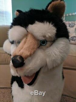 Studio Husky Plush By Ramat Wolf Malamute Shiba Inu