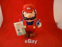 Super Mario Bros 2 1989 NES Era Plush Stuffed Animal Figure Applause Nintendo 7i