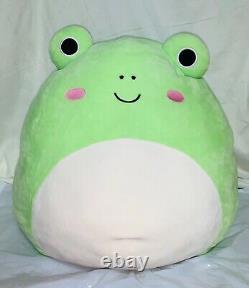 Super Rare Wendy the Frog Squishmallow 16 XL Kellytoy Plush 2020
