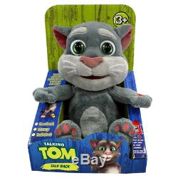 Talking Tom Cat Plush Toy Repeats Everything You Say With A Funny Voice