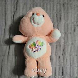 The Care bears Day Dream Bear 14 Plush Stuffed Animal Rare READ DESCRIPTION