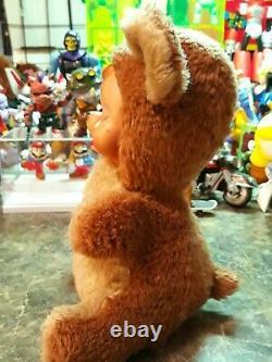 The Rushton Company Rubber Face Crying Sad Teddy Bear Plush Doll 9