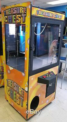 Treasure Chest Claw Crane Plush Stuffed Animal Arcade Machine Orange Decal #1