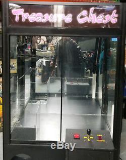Treasure Chest Wide Skill Claw Crane Plush Stuffed Animal Arcade Machine C14