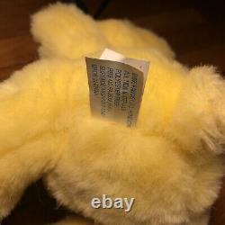 Twinkle Bears Plush Yellow 10 Fantasy Ltd 1995 Stuffed Animal Toy