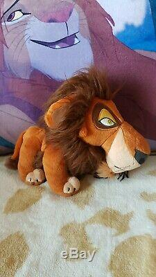 ULTRA RARE Disney The Lion King Japan SEGA Scar Collector's Plush Toy