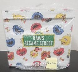 UNIQLO KAWS X SESAME STREET COMPLETE 5 PLUSH TOY SET IN BOX (FedEx shipping)