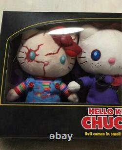 USJ Halloween Hello Kitty Chucky Plush Stuffed Animal 3 pieces Set Universal New