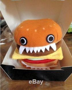 Undercover Jun Takahashi Burger Plush Toy Hamburger Set 2015 NEW Classic style