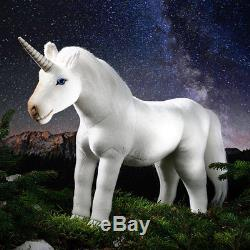 Unicorn white collectable soft toy Kosen / Kösen 36cm 1360