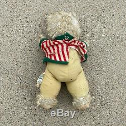VTG 50s Rushton Star Creation Bear Plush Rubber Face Teddy Stuffed Animal 13