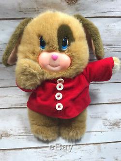 VTG A Little Happiness Blushables Puppy Dog Plush Stuffed Animal Light Up Cheeks