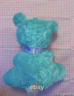 VTG Rushton Happy Bear Multi-Colored Plush Rubber Face Stuffed Animal
