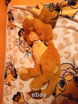 Very Rare Douglas Co. 1994 The Lion King Simba Plush Puppet pale eyes variant
