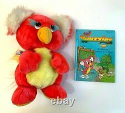 Vintage 1986 WUZZLES Plush KOALAKEET with BOOK! Disney Hasbro Stuffed Koala Wuzzle