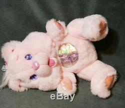 Vintage 1995 Fantasy Ltd Pink Twinkle Bears Teddy Bear Stuffed Animal Plush Toy