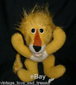 Vintage Animal Fair Yellow Leo Leroy The Lion Stuffed Plush Toy Henry's Friend